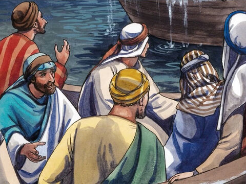 And the men were amazed and said, 'What sort of person is this? Even the winds and the sea obey Him!' – Slide 8