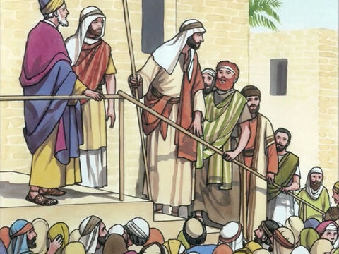 Then Jesus asked, 'Who was it who touched Me?' – Slide 6