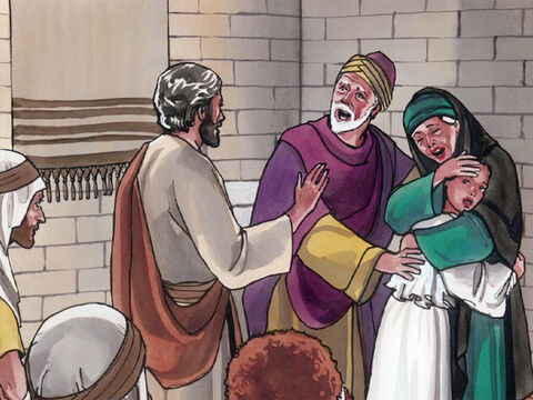 Then Jesus told her parents to give her something to eat. – Slide 20