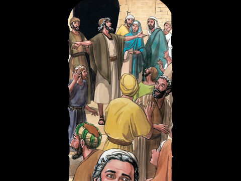 After the demon was cast out, the man who had been mute spoke. The crowds were amazed and said, 'Never has anything like this been seen in Israel!' – Slide 6