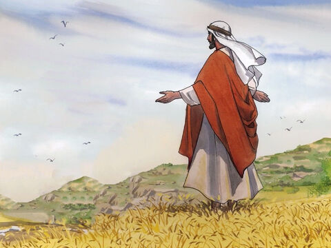 Then Jesus said to His disciples, 'The harvest is plentiful, but the workers are few. Therefore ask the Lord of the harvest to send out workers into his harvest.' – Slide 5