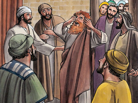 All the crowds were amazed and said, 'Could this one be the Son of David?' But when the Pharisees heard this they said, 'He does not cast out demons except by the power of Beelzebul, the ruler of demons!' – Slide 2