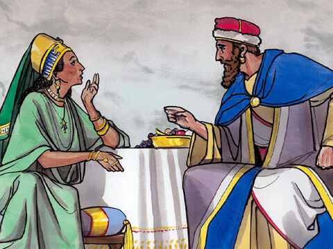 'The Queen of Shebah will rise up at the judgment with this generation and condemn it, because she came from the ends of the earth to hear the wisdom of Solomon – and now, something greater than Solomon is here!' – Slide 7