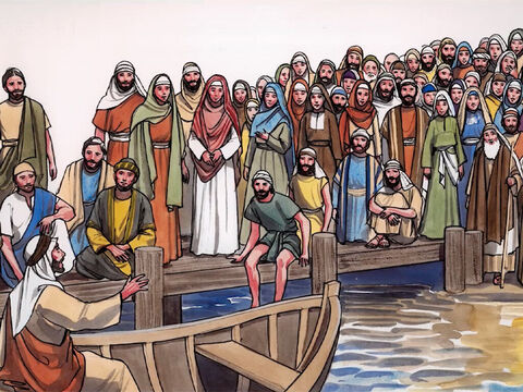 Jesus continued with yet another parable (parable of the yeast). – Slide 11