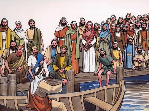 Jesus spoke all these things in parables to the crowds. He did not speak to them without a parable. – Slide 13