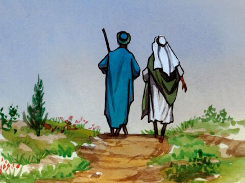 … no bread, no bag, no money in their belts – and to put on sandals but not to wear two tunics. – Slide 3