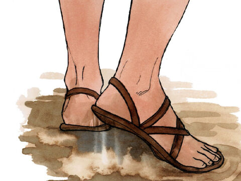 '… shake the dust off your feet as a testimony against them.' – Slide 6