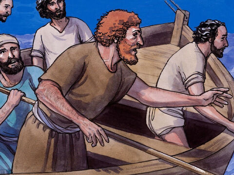Peter said to Him, 'Lord, if it is you, order me to come to you on the water.' – Slide 6