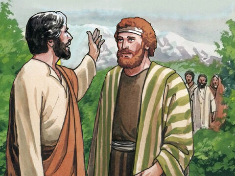 Peter answered Him, 'You are the Christ, the Son of the living God.' – Slide 6