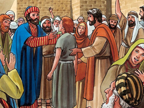 Then they were all astonished at the mighty power of God. – Slide 10