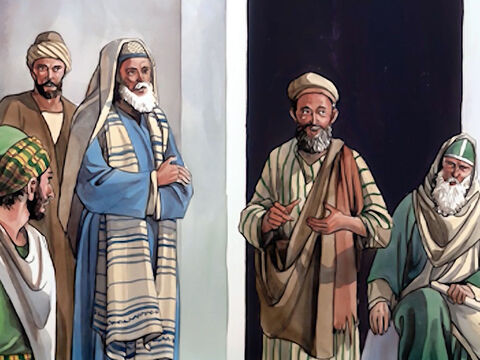 Then some of the Pharisees began to say, 'This man is not from God, because He does not observe the Sabbath.' But others said, 'How can a man who is a sinner perform such miraculous signs?' Thus there was a division among them. – Slide 13