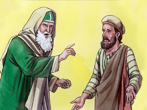 Then they summoned the man who used to be blind a second time and said to him, 'Promise before God to tell the truth. We know that this man Jesus is a sinner.' <br/>He replied,  'I do not know whether Jesus is a sinner. I do know one thing – that although I was blind, now I can see.' – Slide 3