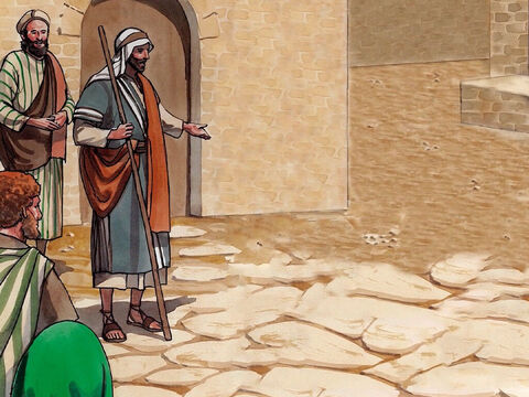 Jesus told them this parable, but they did not understand what He was saying to them. – Slide 4