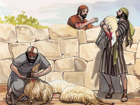 'The thief comes only to steal and kill and destroy; I have come so that they may have life, and may have it abundantly. – Slide 8