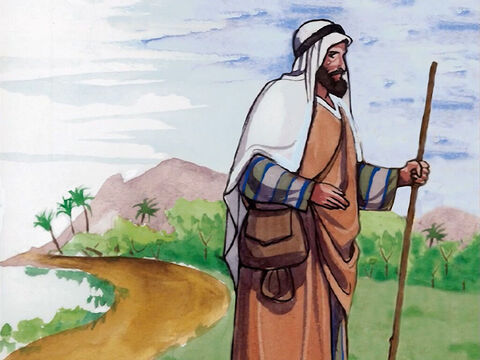 'A man was going down from Jerusalem to Jericho… – Slide 4