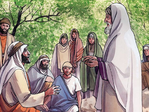 The expert in religious law said, 'The one who showed mercy to him.' So Jesus said to him, 'Go and do the same.' – Slide 16