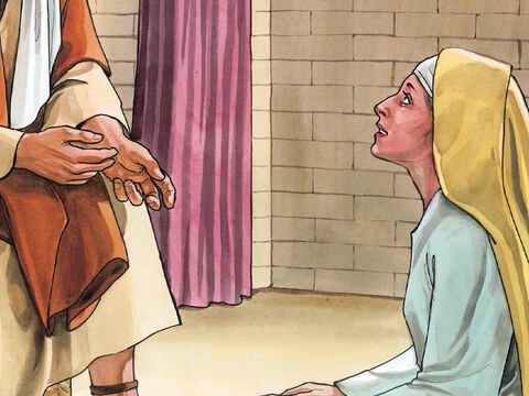 … but one thing is needed. Mary has chosen the best part; it will not be taken away from her.' – Slide 7