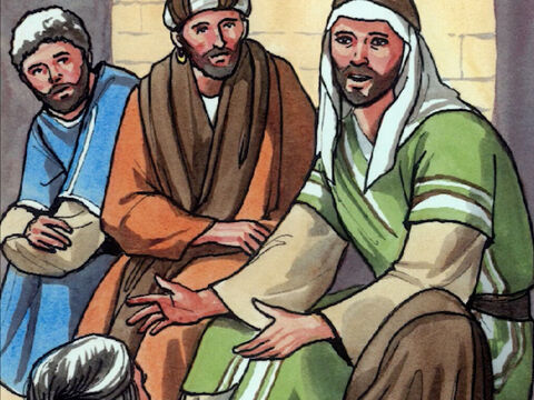 Then Jesus said, 'A man had two sons. – Slide 1