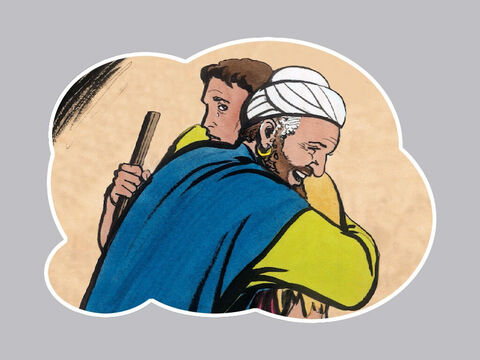 """'Then his son said to him, """"Father, I have sinned against heaven and against you; I am no longer worthy to be called your son."""" – Slide 10"""
