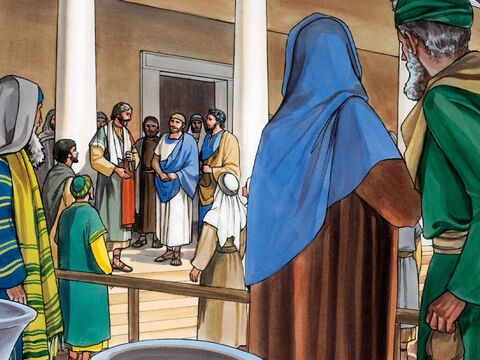 'And I tell you, make friends for yourselves by how you use worldly wealth, so that when it runs out you will be welcomed into the eternal homes. – Slide 7