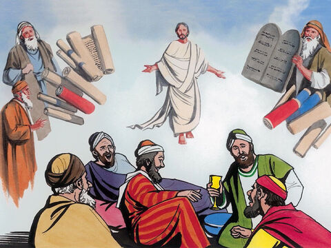 But Abraham said, 'They have Moses and the prophets; they must respond to them.' – Slide 10