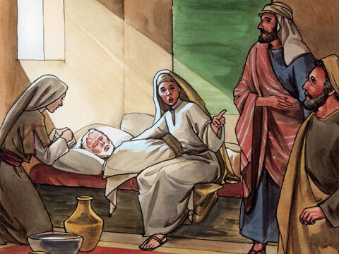Now a certain man named Lazarus was sick. He was from Bethany, the village where Mary and her sister Martha lived. – Slide 1