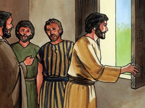Then after this, He said to His disciples, 'Let us go to Judea again.' <br/>The disciples replied, 'Rabbi, the Jewish leaders were trying to stone you to death! Are you going there again?' <br/>Jesus replied, 'Are there not twelve hours in a day? If anyone walks around in the daytime, he does not stumble, because he sees the light of this world. But if anyone walks around at night, he stumbles, because the light is not in him.' – Slide 5