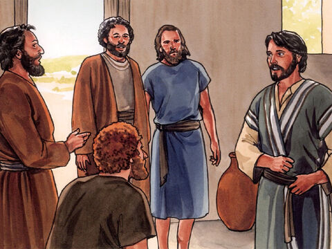 After He said this, Jesus added, 'Our friend Lazarus has fallen asleep. But I am going there to awaken him.' Then the disciples replied, 'Lord, if he has fallen asleep, he will recover.' (Now Jesus had been talking about his death, but they thought He had been talking about real sleep.) Then Jesus told them plainly, 'Lazarus has died, and I am glad for your sake that I was not there, so that you may believe. But let us go to Lazarus.' – Slide 6