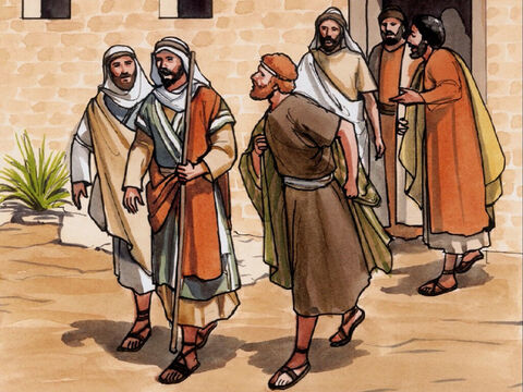 So Thomas (called Didymus) said to his fellow disciples, 'Let us go too, so that we may die with Him.' – Slide 7