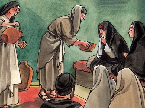 (Now Bethany was less than two miles from Jerusalem, so many of the Jewish people of the region had come to Martha and Mary to console them over the loss of their brother.) – Slide 9