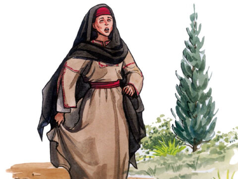 So when Martha heard that Jesus was coming, she went out to meet Him, but Mary was sitting in the house. – Slide 10