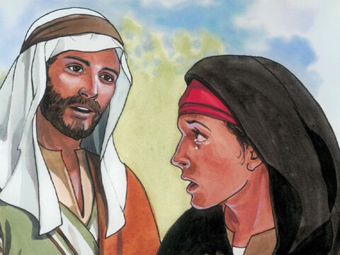 She replied. 'Yes, Lord, I believe that you are the Christ, the Son of God who comes into the world.' – Slide 3