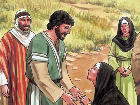When Jesus saw her weeping, and the people who had come with her weeping, He was intensely moved in spirit and greatly distressed. He asked, 'Where have you laid him?' <br/>They replied, 'Lord, come and see.' Jesus wept. – Slide 7