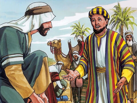 Now a rich young man came up to Jesus and said, 'Teacher, what good thing must I do to gain eternal life?' – Slide 1