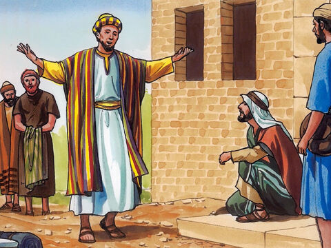 The young man said to him, 'I have wholeheartedly obeyed all these laws. What do I still lack?' – Slide 5