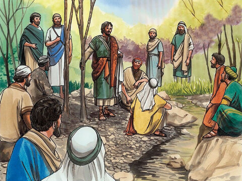 Then Jesus took the twelve aside and said to them, 'Look, we are going up to Jerusalem, and everything that is written about the Son of Man by the prophets will be accomplished. – Slide 1