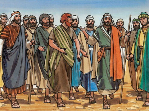But the twelve understood none of these things. This saying was hidden from them, and they did not grasp what Jesus meant. – Slide 5