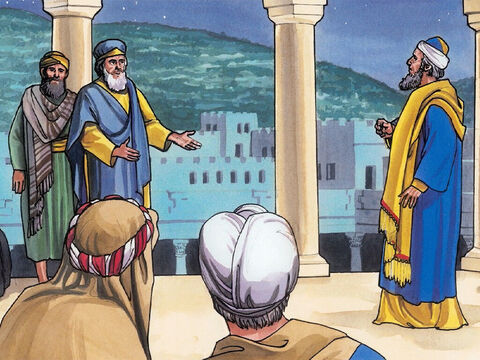 The chief priests and the experts in the law heard it and they considered how they could assassinate Him, for they feared Jesus, because the whole crowd was amazed by His teaching. – Slide 6