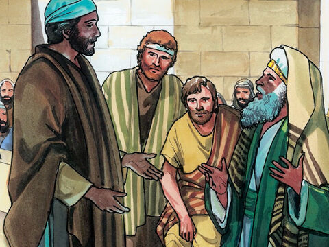 So they answered Jesus, 'We don't know.' Then Jesus said to them, 'Neither will I tell you by what authority I am doing these things.' – Slide 14