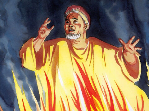 """Depart from me, you accursed, into the eternal fire that has been prepared for the devil and his angels! – Slide 12"