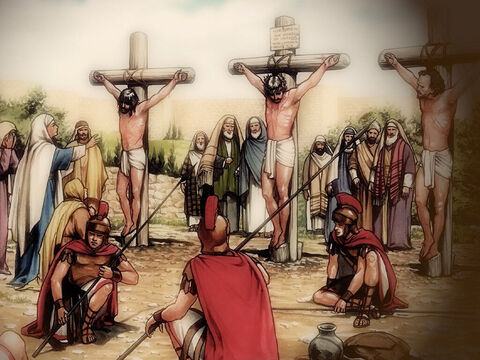 'You know that after two days the Passover is coming, and the Son of Man will be handed over to be crucified.' – Slide 2