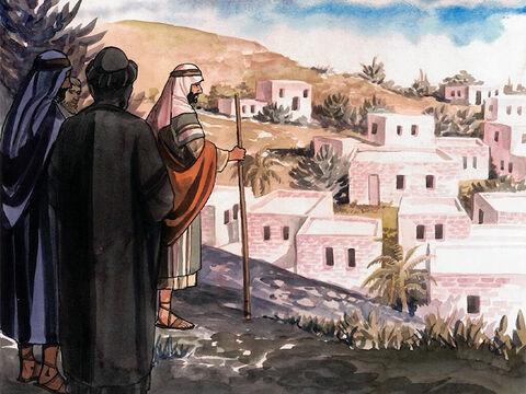 Six days before the Passover, Jesus came to Bethany, where Lazarus lived, whom He had raised from the dead. – Slide 1