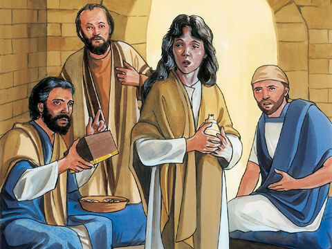 (Now Judas  said this not because he was concerned about the poor, but because he was a thief. As keeper of the money box, he used to steal what was put into it.) – Slide 5