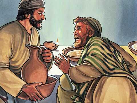 Then He came to Simon Peter. Peter said to Him, 'Lord, are you going to wash my feet?' – Slide 7
