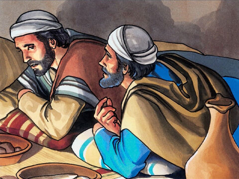 And after Judas took the piece of bread, Satan entered into him. Jesus said to him, 'What you are about to do, do quickly.' – Slide 6