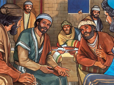 While Jesus was in the upper room celebrating the Passover meal with His disciples, He said, 'I am the true vine and my Father is the gardener. – Slide 1
