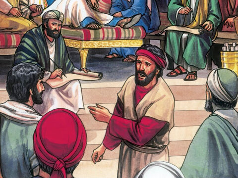 But they did not find anything, although many false witnesses came forward. – Slide 6