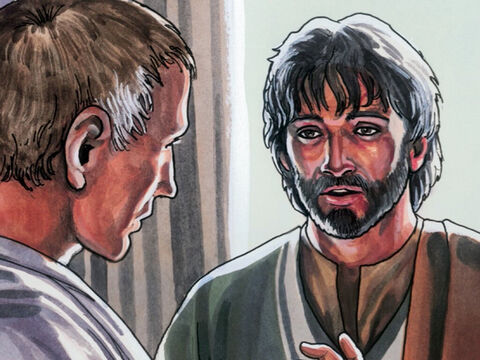 Jesus replied, 'Are you saying this on your own initiative or have others told you about Me?' – Slide 9