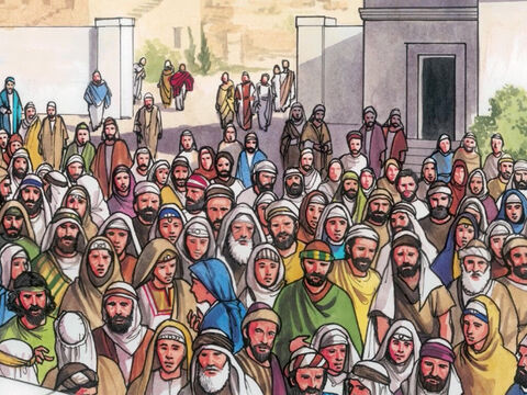 During the feast it was customary to release one prisoner to the people, whomever they requested. – Slide 1