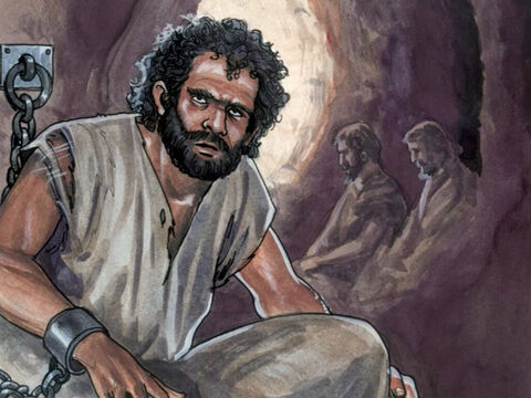 A man named Barabbas was in prison with rebels who had committed murder during an insurrection. – Slide 2